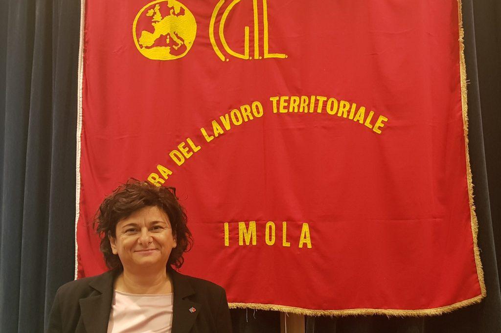 Mirella Collina confermata segretaria generale Cgil Imola
