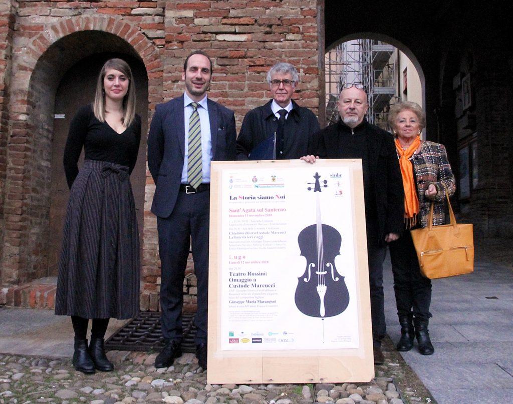Lugo e Sant'Agata ricordano Custode Marcucci