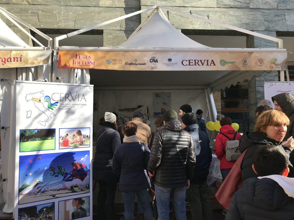 Cervia alla Festa del torrone di Cremona