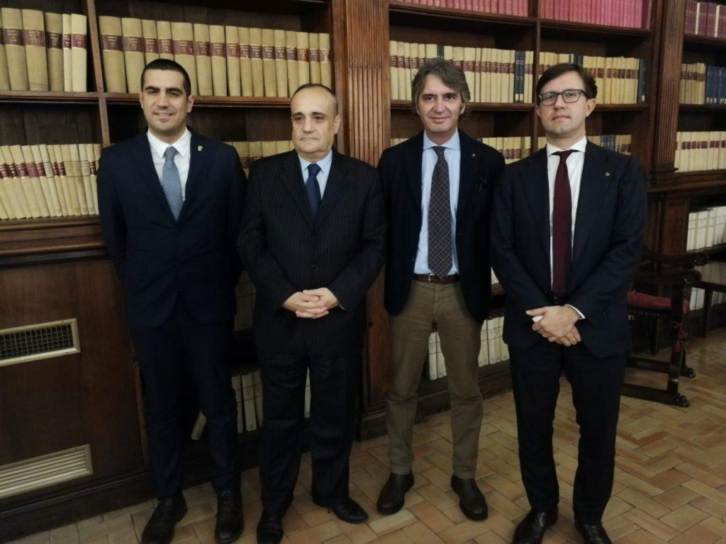 Verso Dante 2021, i sindaci di Firenze, Ravenna e Verona incontrano il ministro per i Beni e le attività culturali Bonisoli