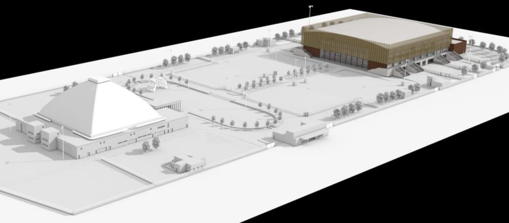 Ravenna, presentato il progetto del nuovo palasport. Inizio lavori nel 2019