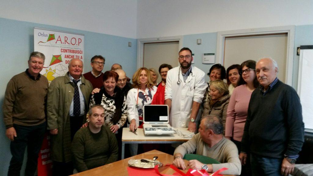 Nuovo ecografo per l'oncoematologia pediatrica di Rimini