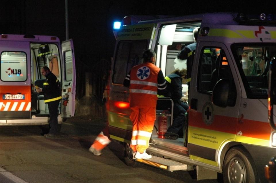 Incidente stradale a Casola Valsenio, grave motociclista