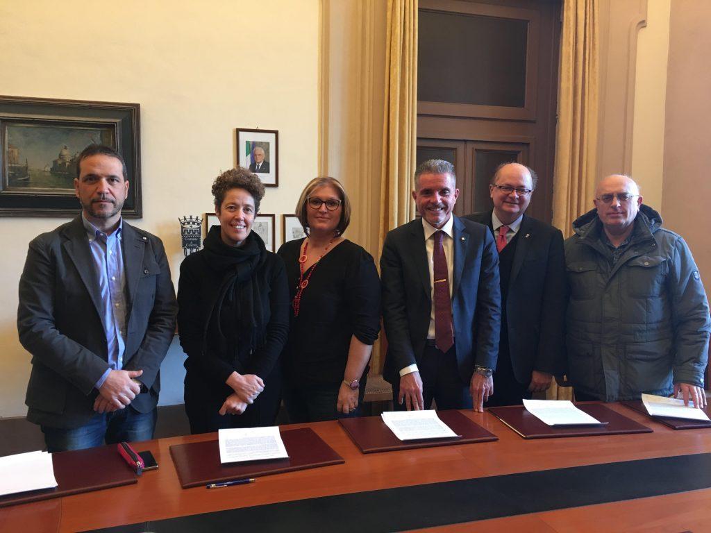 Cesena, firmato l'accordo tra l'Amministrazione e i sindacati sulle scelte strategiche
