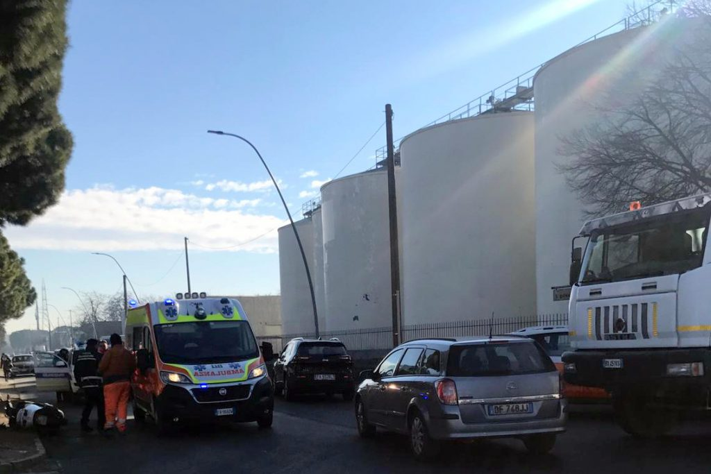 Faenza, incidente in città