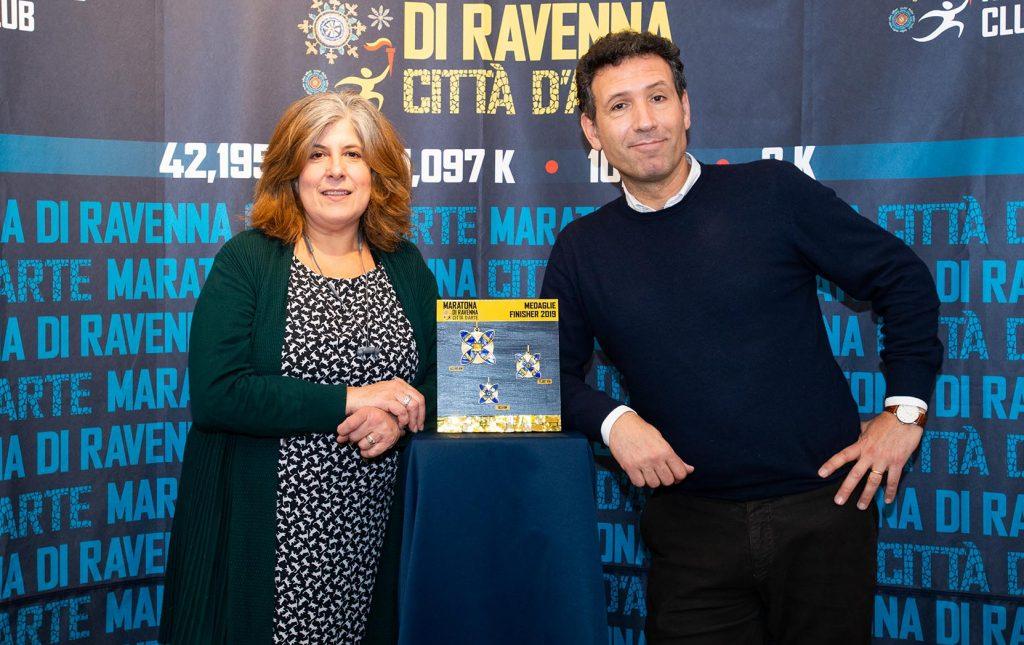 La Medaglia della Maratona di Ravenna 2019, un gioiello fuori dagli schemi
