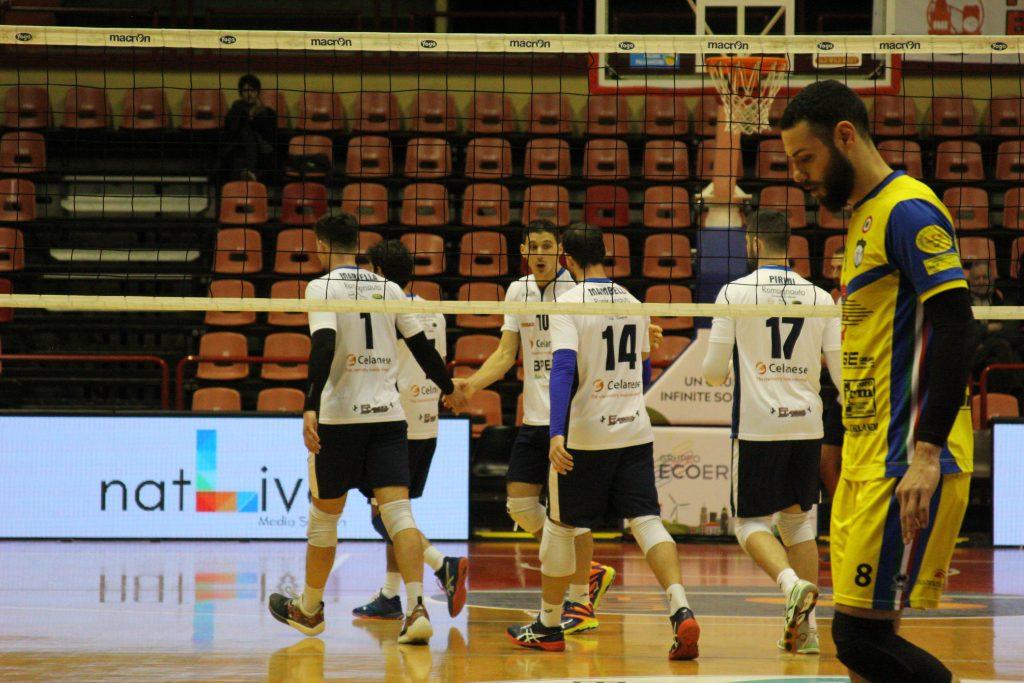 Vittoria del Portomaggiore contro la Celanese Volley Forlì