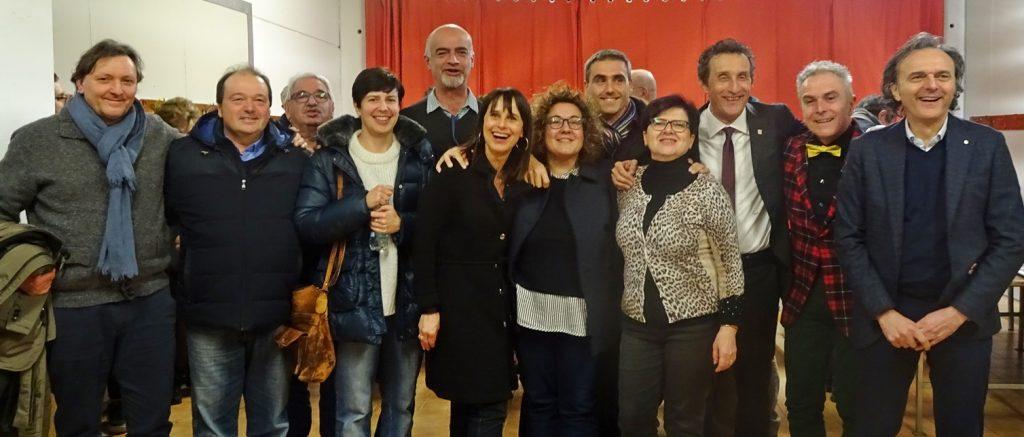 Daniele Bassi si ricandida a Massa Lombarda, entusiasmo alla presentazione