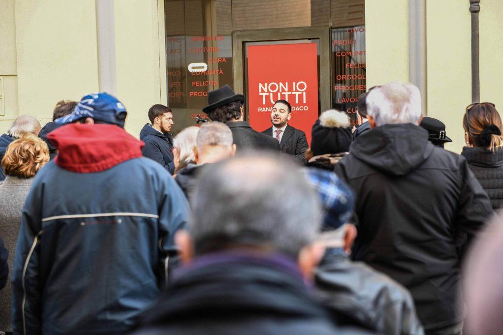 Lugo, inaugurata la sede del comitato elettorale a sostegno di Davide Ranalli