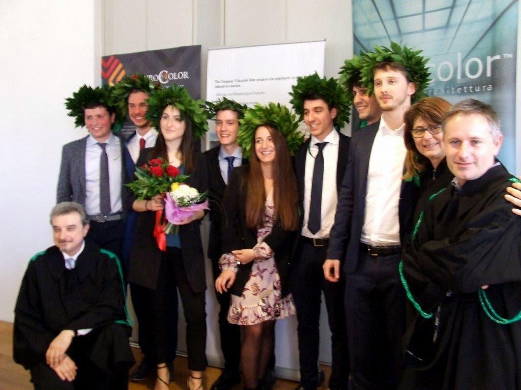 Faenza, nuovi laureati in Chimica dei materiali