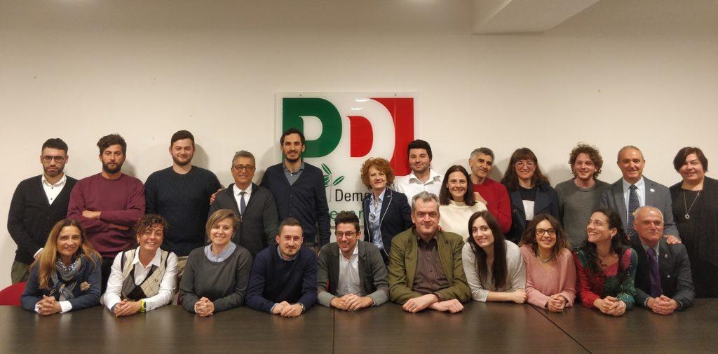 Elezioni Cesena, presentati i candidati al consiglio comunale del Pd