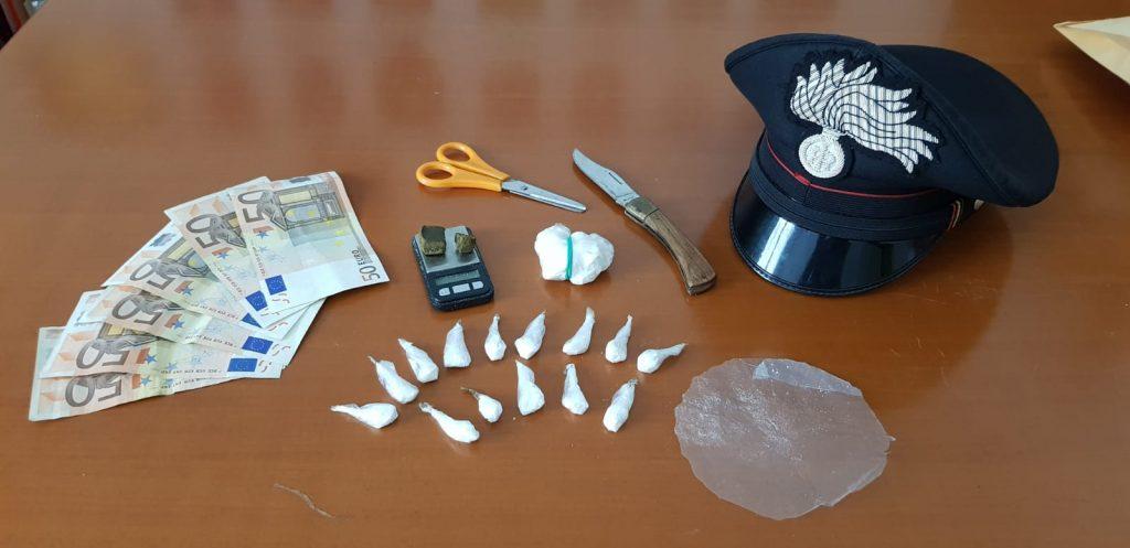 Faenza coppia di stranieri arrestati per avere allestito un piccolo market di droga nella stanza del B&B che occupavano