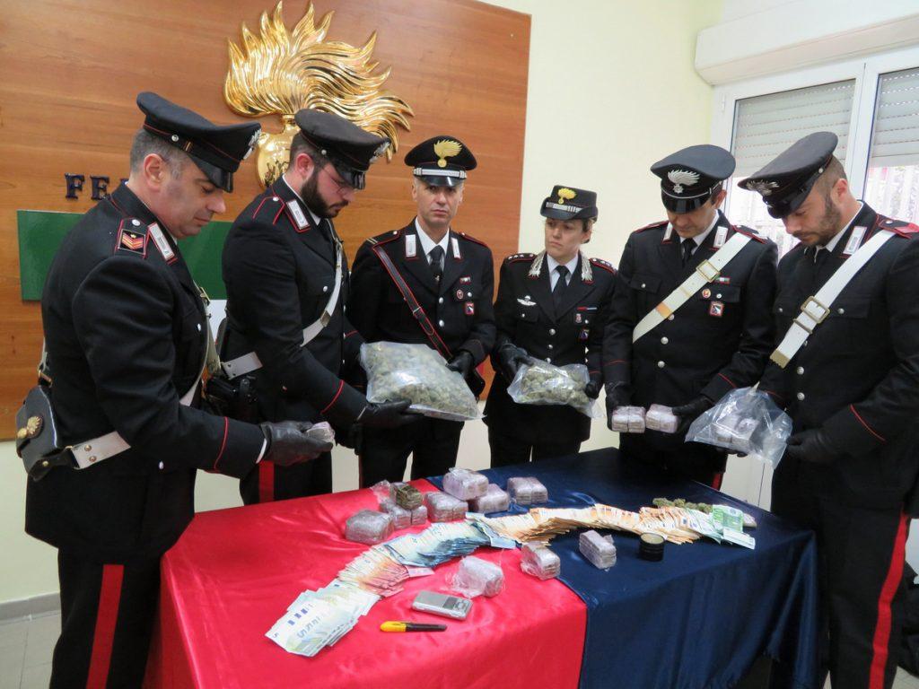 Castel Bolognese, sequesto di droga da parte dei carabinieri del Borgo Durbecco di Faenza