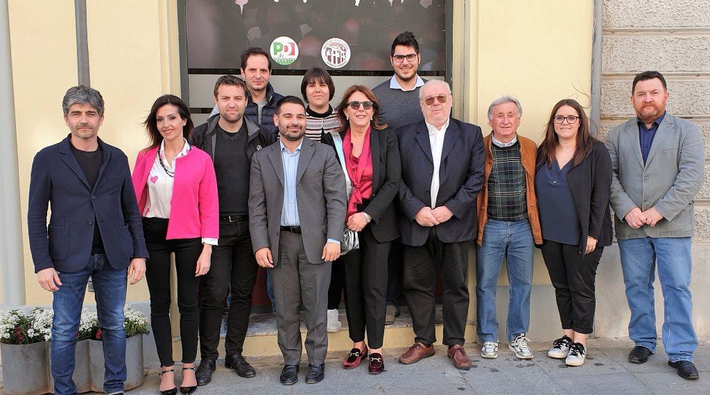 Presentata la lista del Pd di Lugo a sostegno di Davide Ranalli