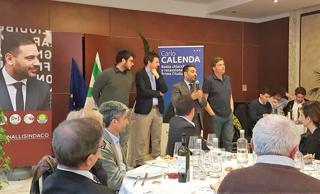 Applausi a Lugo per Calenda e Ranalli sulla visione di un'Europa giusta e democratica