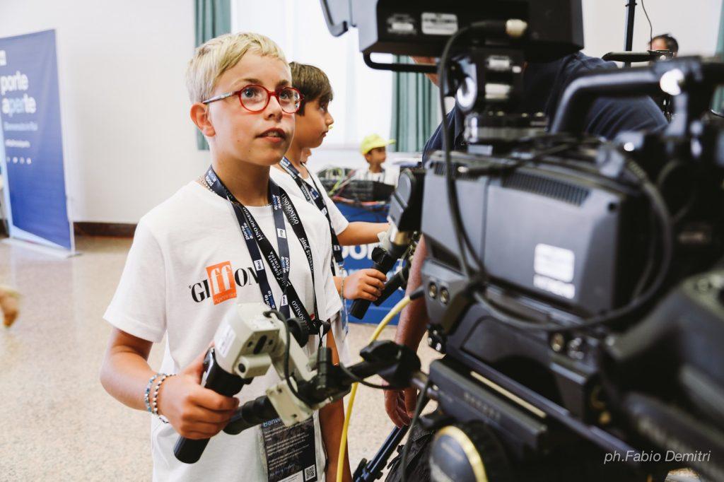 Cinema per ragazzi protagonista a Riccione con Cinécamp