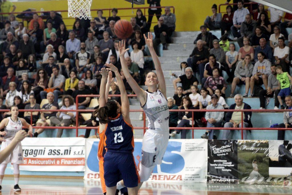 Faenza fatica in attacco nel primo quarto e Palermo espugna il Bubani