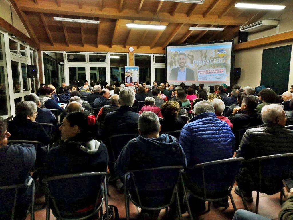Cotignola, Luca Piovaccari ha presentato programma e candidati al consiglio comunale