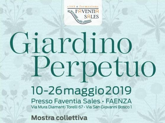 """Faenza, al Complesso ex Salesiani la mostra """"Giardino perpetuo"""""""