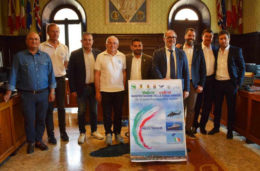 A Punta Marina Terme tornano le Frecce Tricolori