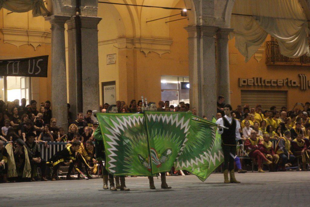 Torneo alfieri bandieranti di Faenza, dopo 14 anni la 'Botte' di albana torna al Verde