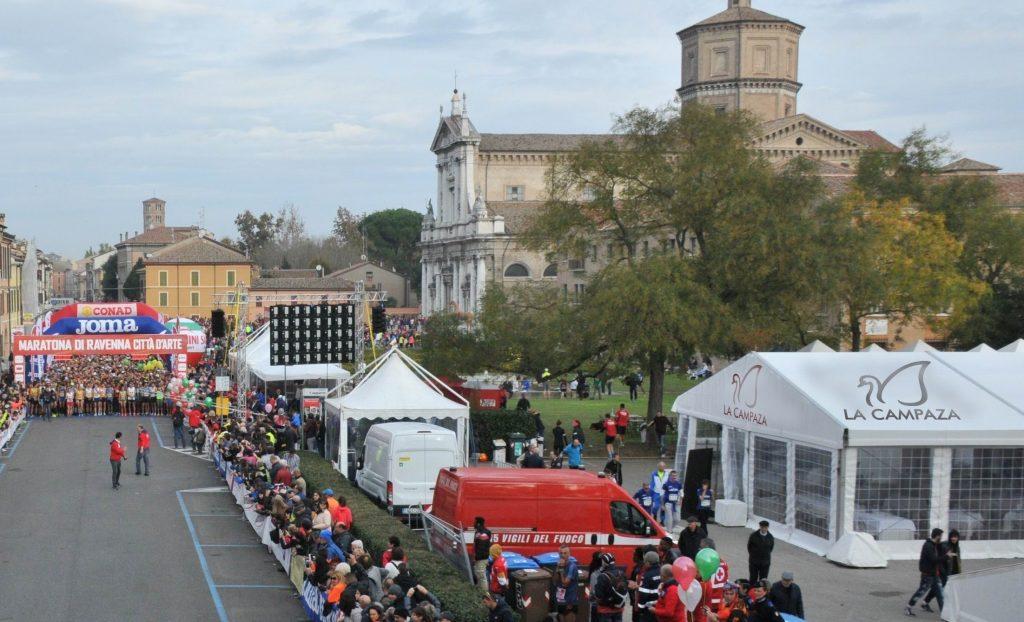Gruppo La Campaza ancora al fianco della Maratona di Ravenna