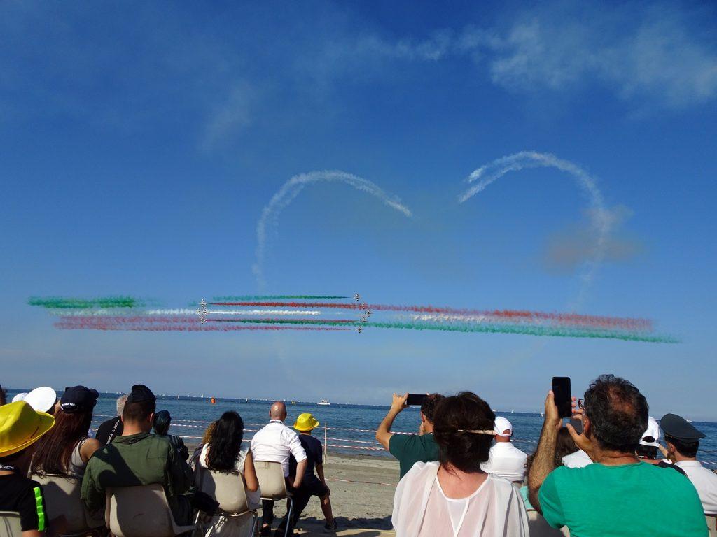Valore Tricolore, oltre 200mila persone a vedere le Frecce Tricolori