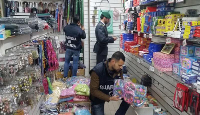 Gdf Faenza: sequestrati 13mila articoli potenzialmente pericolosi per la salute