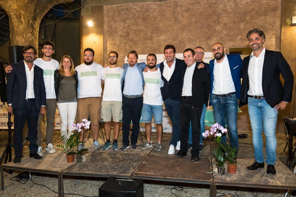 Faventia Sales: ragazzi, famiglie e campioni alla giornata di apertura del Calciotto