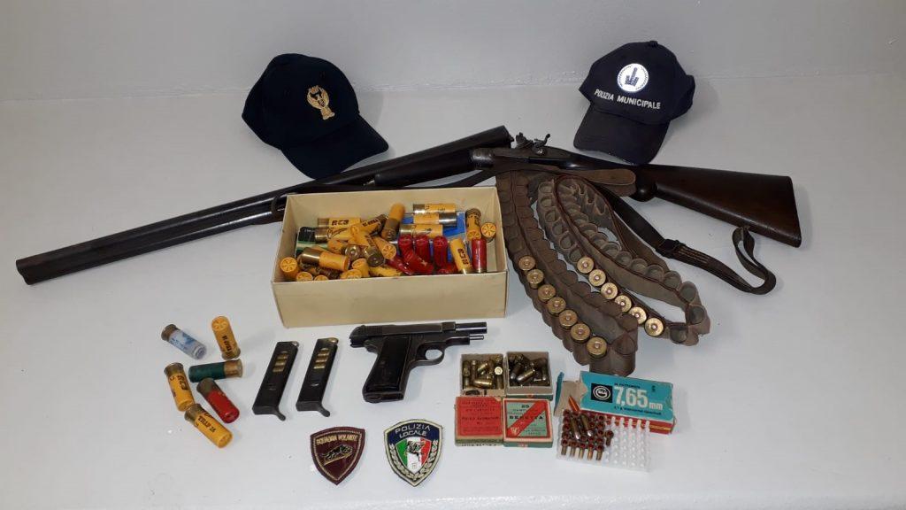 Arrestato 70enne lughese per detenzione illecita di armi