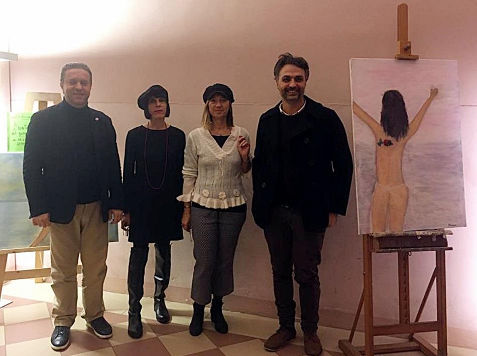 Inaugurata all'ex Salesiani la mostra che unisce arte e solidarietà
