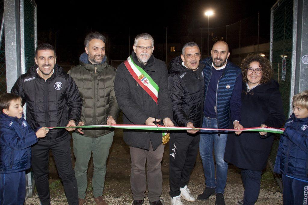 Inaugurato il campo da calcio del complesso degli ex Salesiani di Faenza