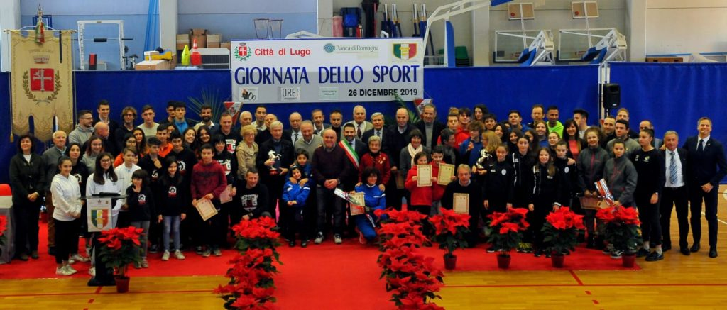 Lugo, premiati gli atleti e le società meritevoli nella Giornata dello sport