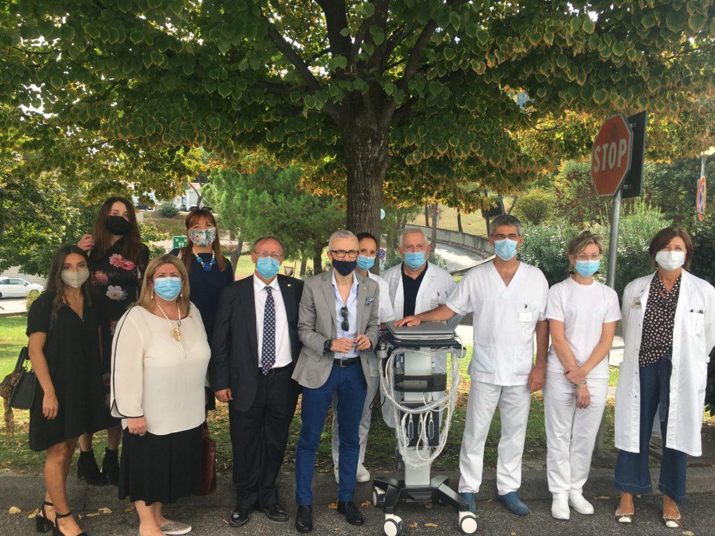 Rotary Club di Cesena, Forlì e Valle Savio donano ecografo di ultima generazione al Pronto Soccorso del Bufalini