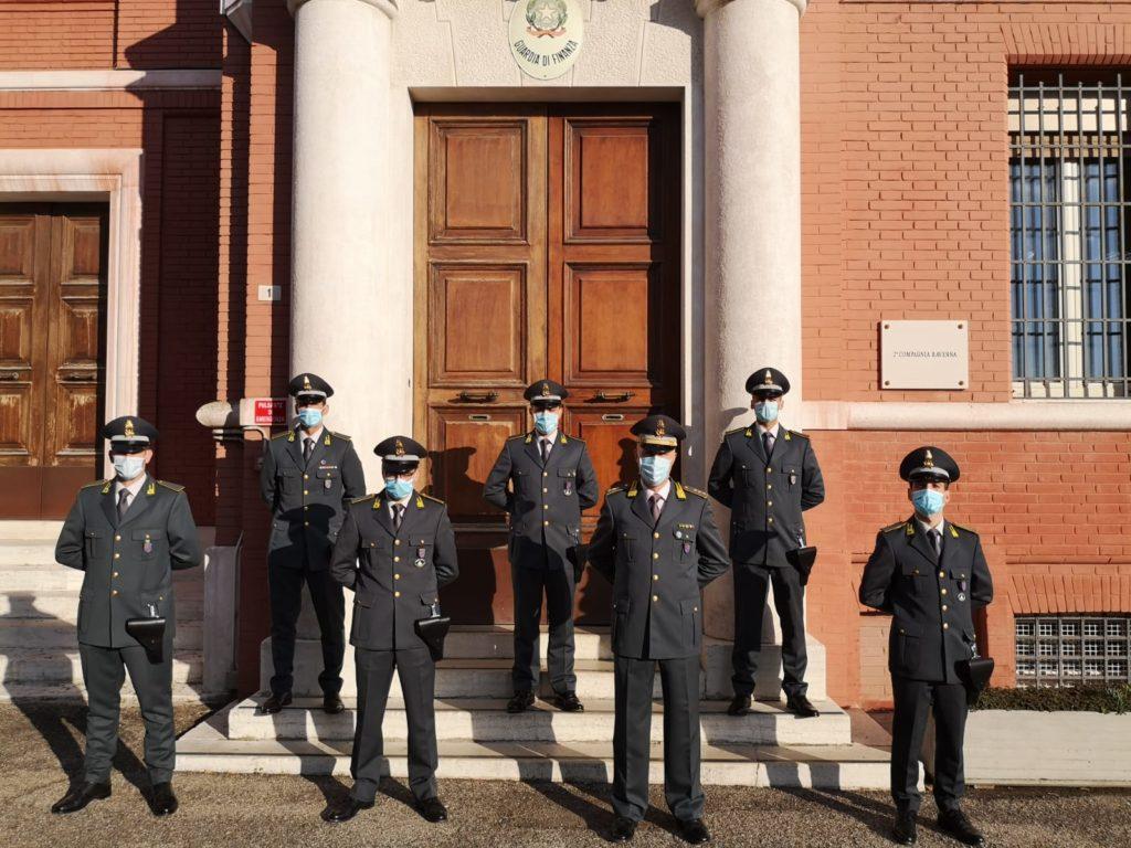 Guardia di Finanza: 8 neofinanzieri assegnati nei reparti operativi del Comando Provinciale di Ravenna