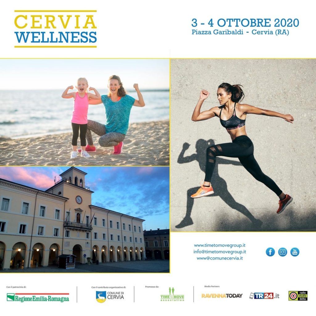 Cervia Wellness in piazza Garibaldi