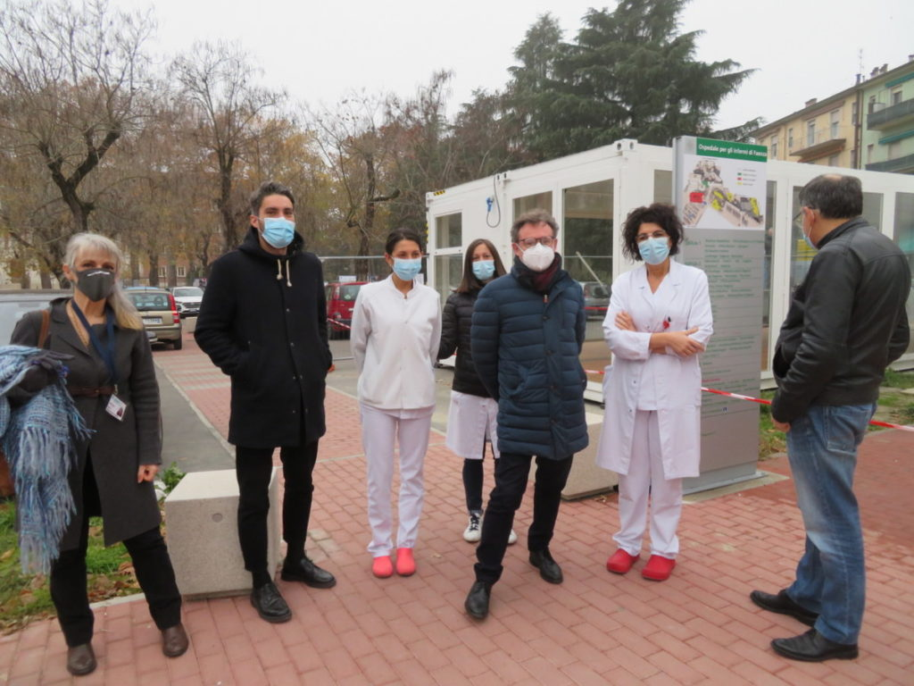 Emergenza Covid-19, l'ospedale di Faenza si dota del pre-triage