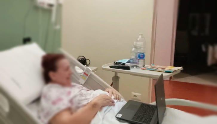 Ospedale di comunità di Brisighella: videochiamate per mettere in contatto pazienti e famiglie nelle feste natalizie