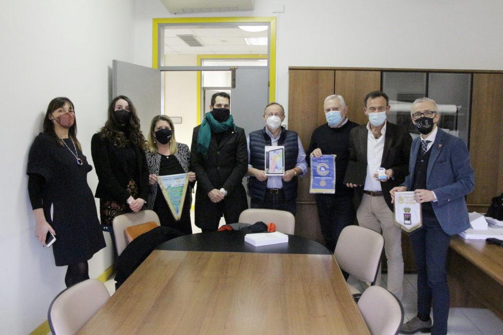 Rotary Cesena dona ecografo ai medici Usca