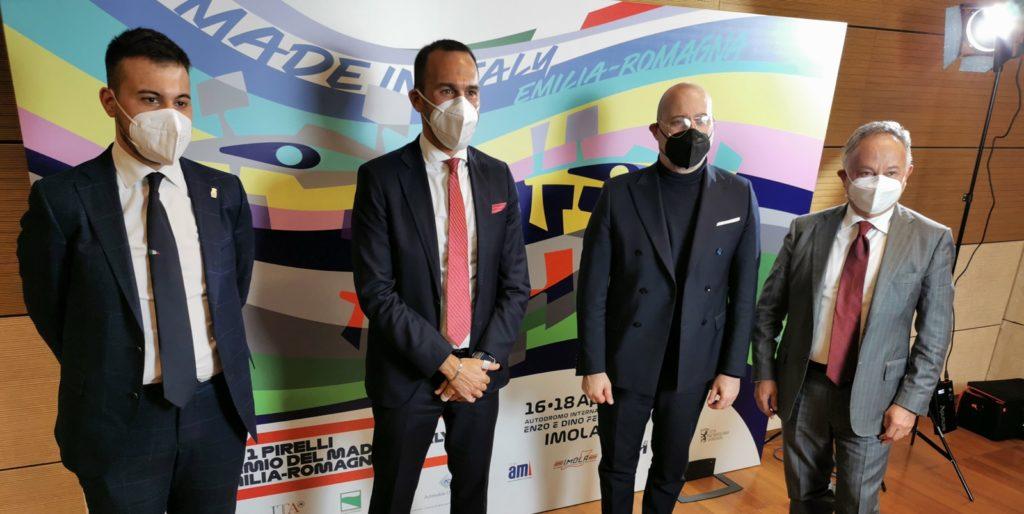 Sarà ad Imola il Gran Premio del Made in Italy e dell'Emilia-Romagna di Formula 1