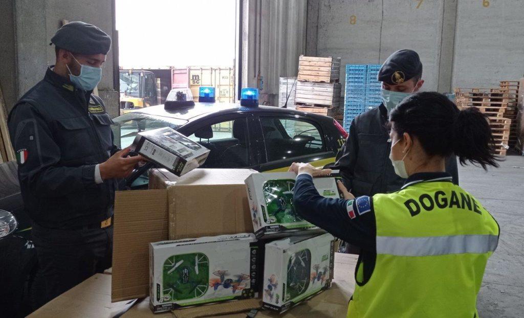 Ravenna, intercettato un carico di giocattoli sospetti provenienti dalla Cina
