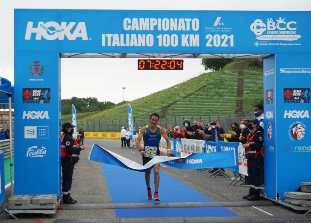 Marco Menegardi vince la special edition del Campionato Italiano 100 km
