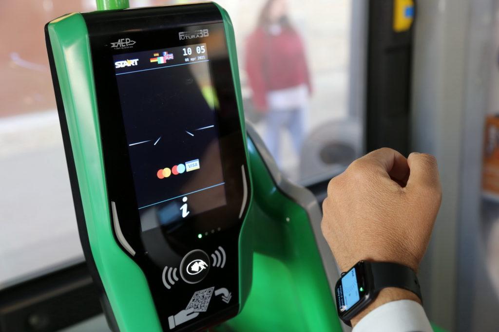 Rimini, al via il progetto StarTap: sui bus sarà possibile pagare il viaggio con carte bancarie o virtualizzate