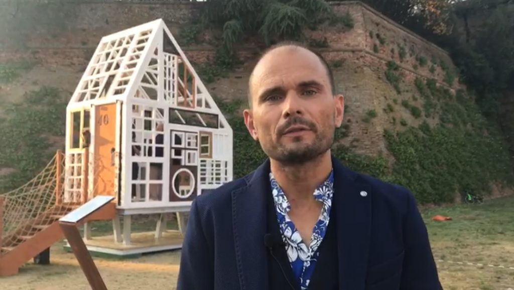 Inaugurata a Lugo l'installazione Lunette – VIDEO