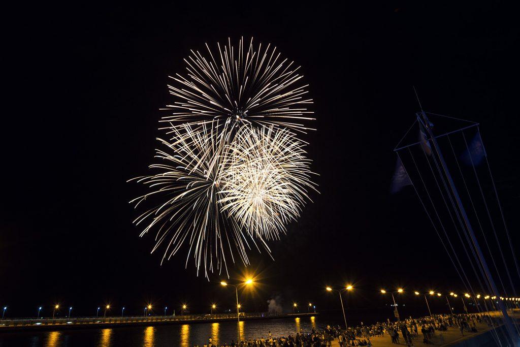Ravenna, tornano i fuochi d'artificio per festeggiare Sant'Apollinare