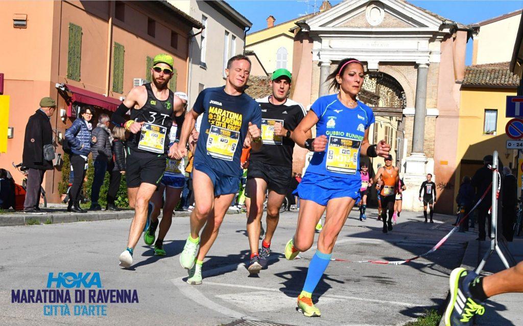 Alla maratona di Ravenna in presenza si affianca l'edizione virtuale